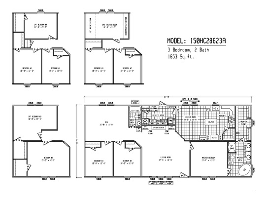 Blue Ribbon Mobile Homes Inc In Palestine Texas Search For - Floor plans for homes in texas 2